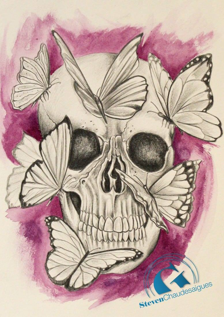 Dessin tatouage papillon galerie tatouage - Tatouage de papillon ...
