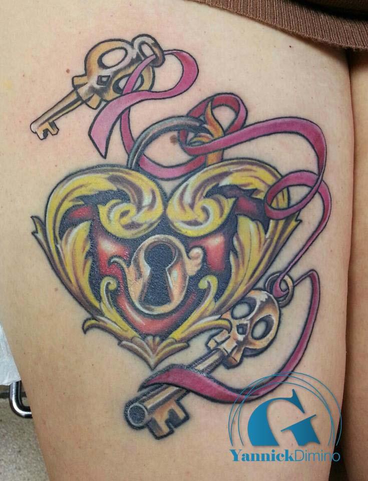 Mod les de tatouage graphicaderme - Tatouage de coeur ...