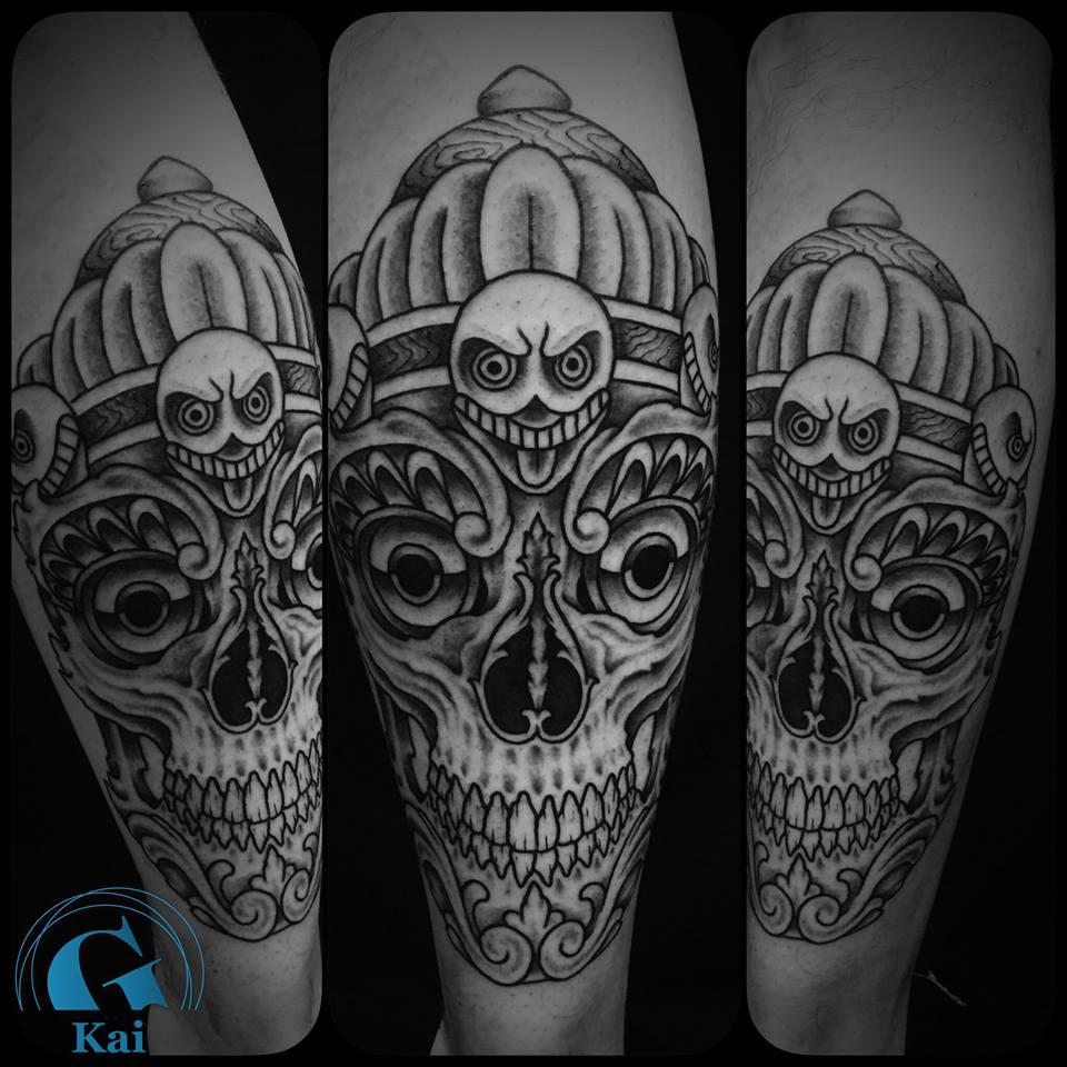 Tatouage Crâne Graphicaderme