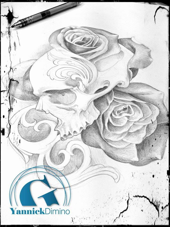 Idee Dessin Flash Tatouage Crane Roses Jpg Graphicaderme