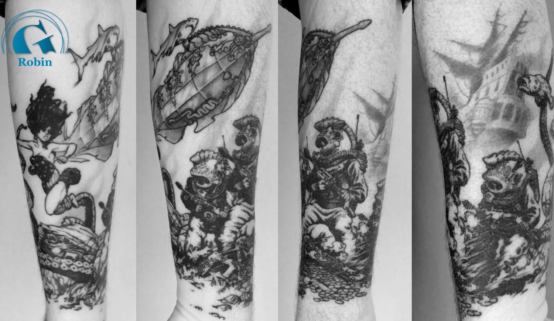 modele de tatouage homme poignet