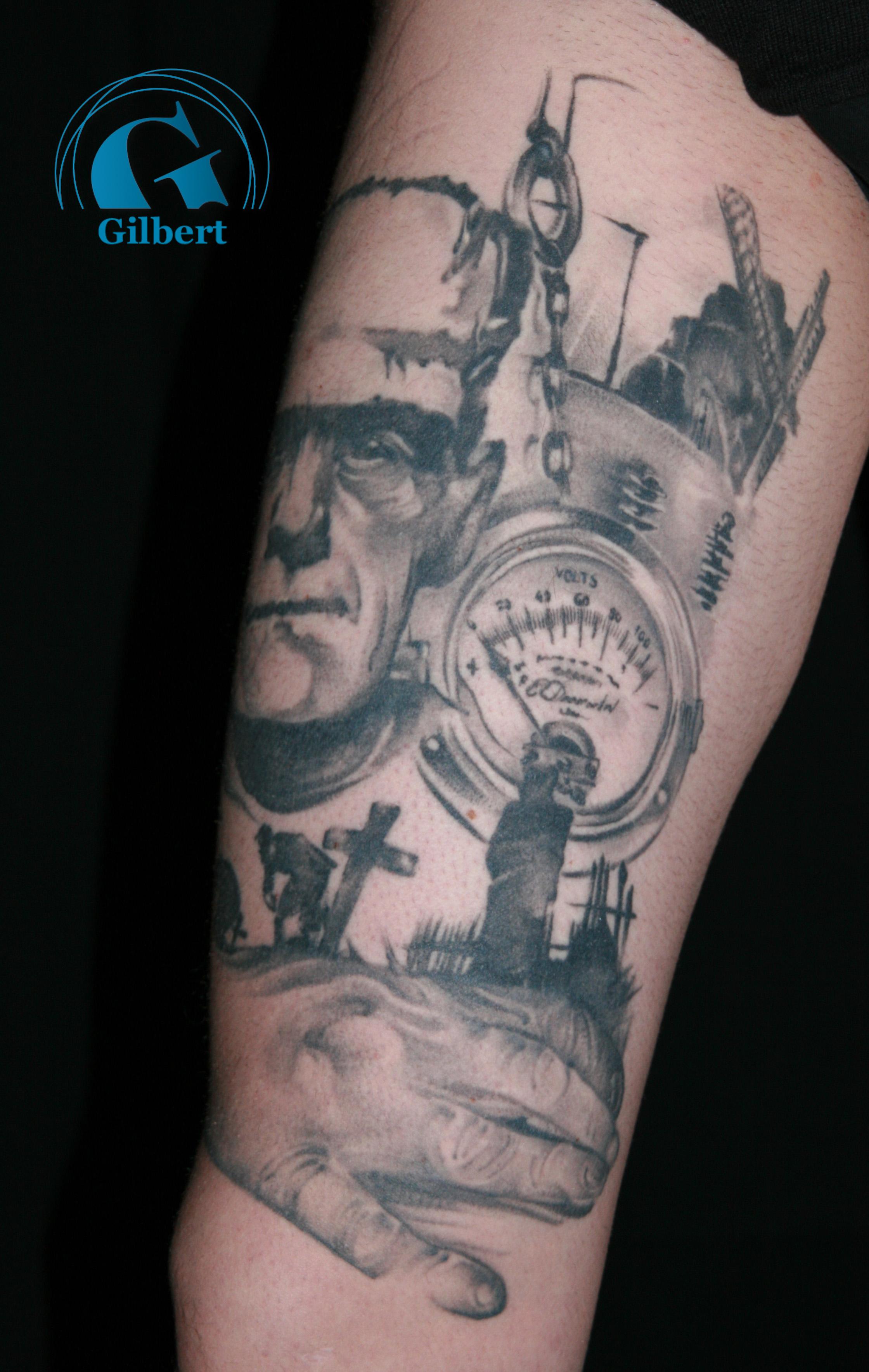 signification tatouage point noir