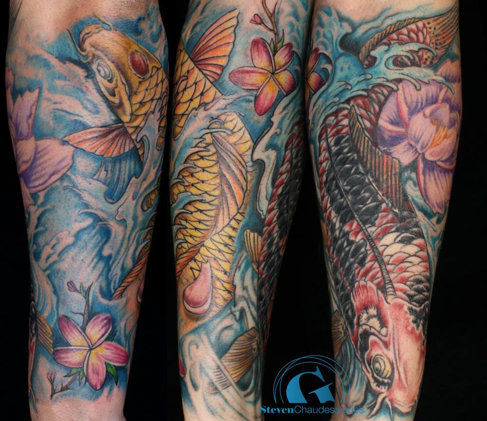 Tatouage carpe koi femme galerie tatouage for Koi japonais prix