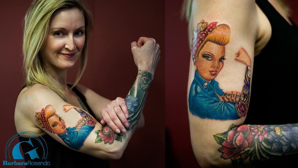 Tatouage Bras Femme Graphicaderme