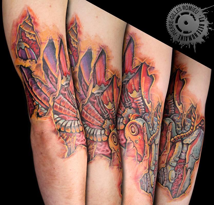 tatouage biomécanique | graphicaderme