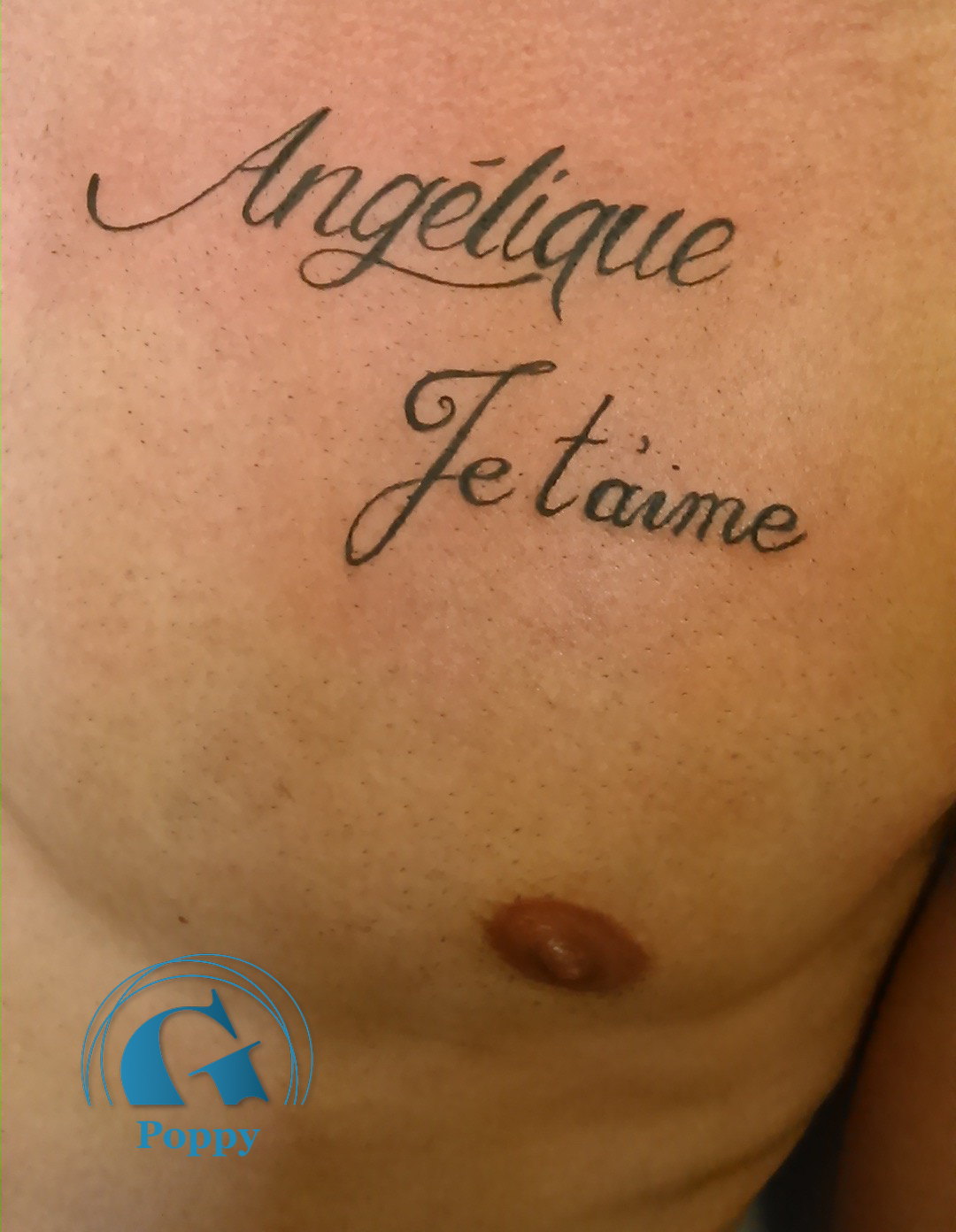 Tatouage criture graphicaderme - Modele tatouage prenom ...