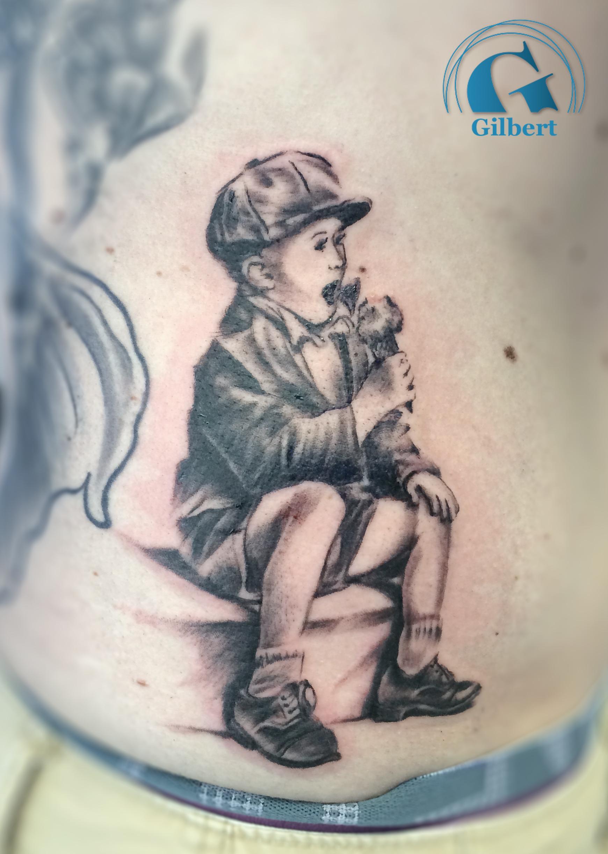 Tatouage rose noir et blanc galerie tatouage - Image de tatouage ...