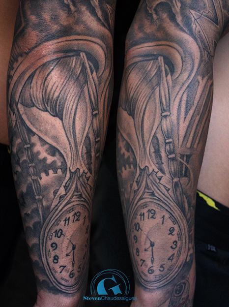 Tatouage Homme Bras Amour Kolorisse Developpement