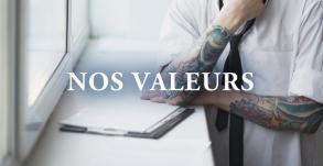 Les valeurs de Graphicaderme
