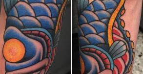 graphicaderme-kai-tatouage-tatoueur-avignon-vaucluse-oldschool-poission-tattoo-tattoocouleurs