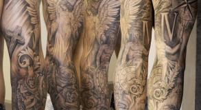 graphicaderme-avignon-vaucluse-paca-tatoueur-steven-chaudesaigues-brascomplet-noiretgris-realisme-religion-portrait