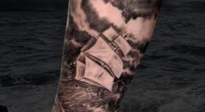 joe-wild-graphicaderme-tatouage-tattoo-bollene-nyons-carpentras-valreas-malaucene-bateau