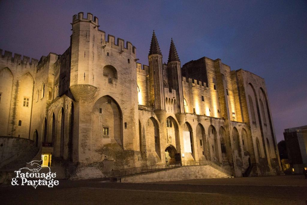Avignon du studio graphicaderme au palais des papes for Salon du chiot avignon 2017