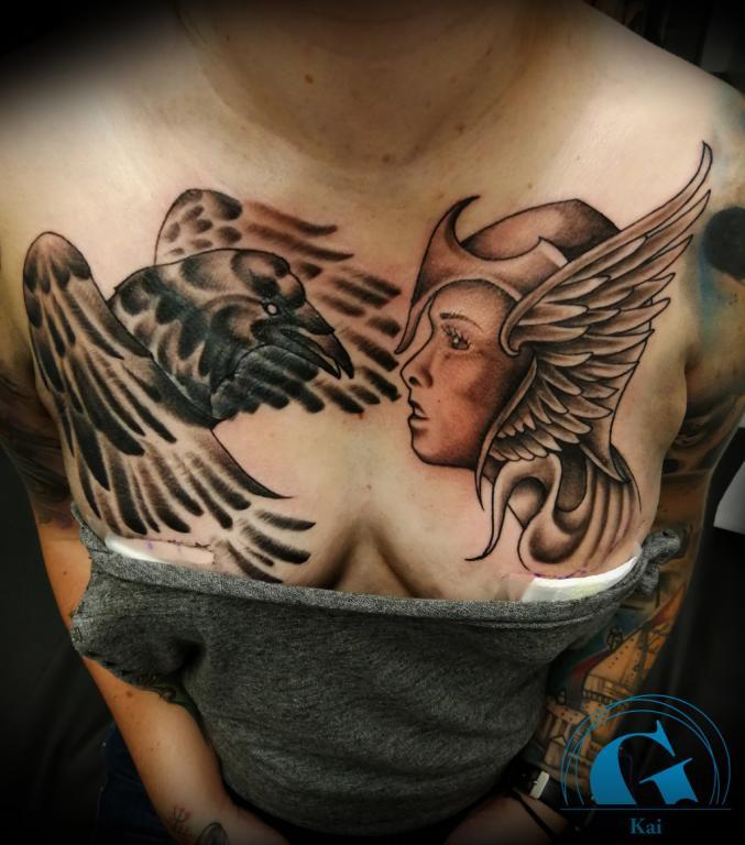 graphicaderme,avignon,vaucluse,kai,tatoueur,tatouage,tattoo,corbeau,