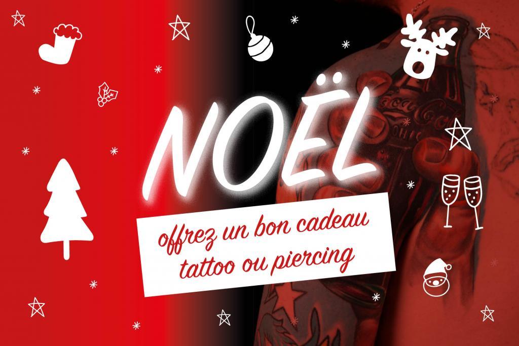 Bon Cadeau Offrez Un Tattoo Ou Un Piercing Pour Noel Graphicaderme