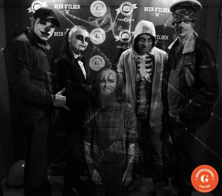 graphicaderme-team-halloween-clown-marin-dirtycool-julien-adrien-steven-avignon