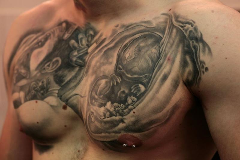Votre tatoueur dans le cantal class parmi les tatoueurs r alistes ne pas manquer graphicaderme - Tatouage larme sous l oeil ...