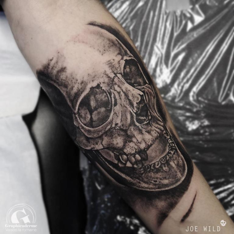 atoueuse-tatoueur-vaison-la-romaine-vaucluse-joe-wild-graphicaderme-tatouage-skull