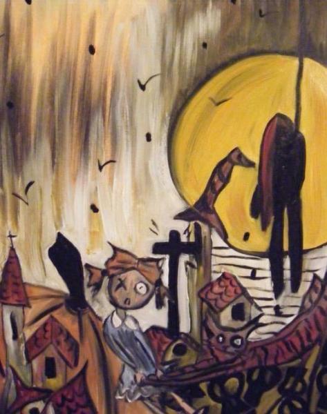Le carnaval de bangbang exposition de peintures graphicaderme - Le petit comptoir avignon ...
