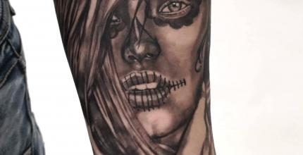 joe-wild-graphicaderme-tatouage-santa-muerte-catrina-tattoo-bollene-nyons-carpentras-valreas-malaucene