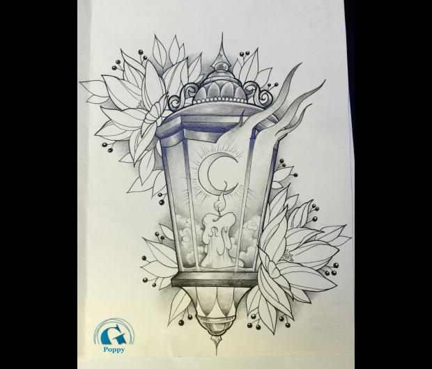 Ii dessins de tatouages aux fleurs polynsiennes par quotes - Dessin tatouage fleur ...