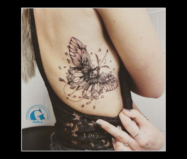 graphicaderme,avignon,papillon,graphique,tatouage,paca