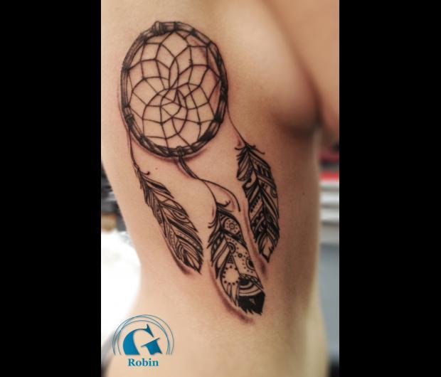 idee,tatouage,attrape,reves,femme