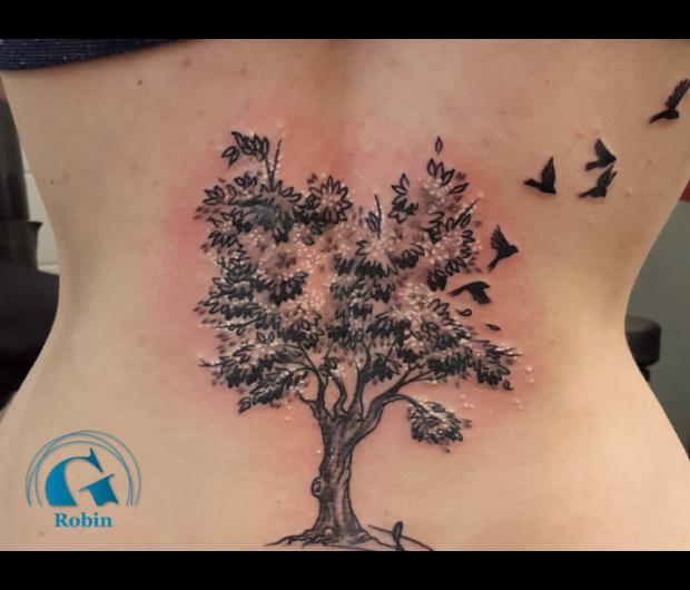 Tatouage Arbre Graphicaderme