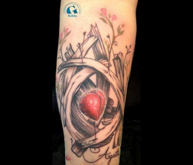 Tatouage Coeur Graphicaderme