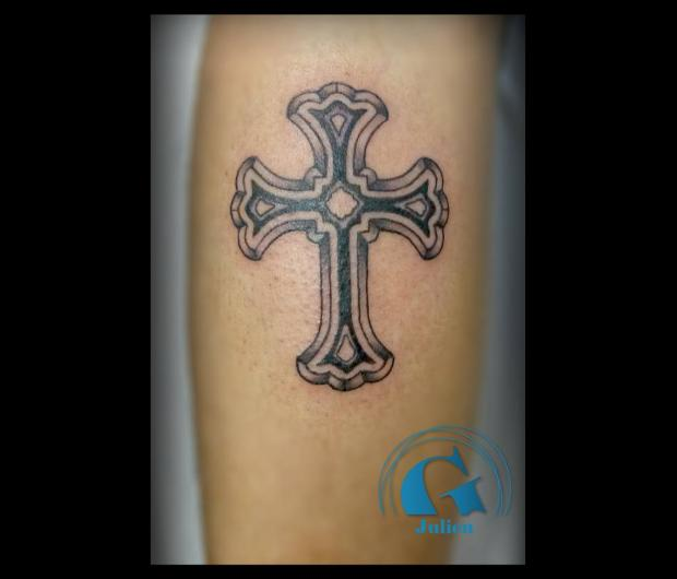Fabuleux Tatouage croix | Graphicaderme OR48