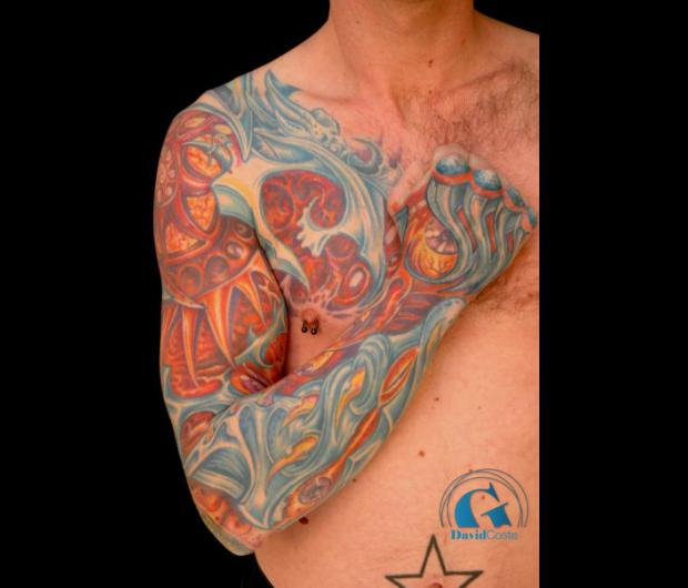 tatouage biomécanique   graphicaderme