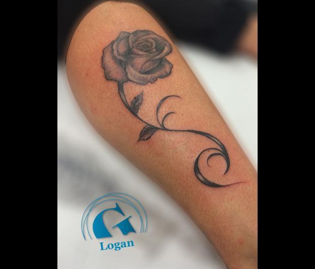 Tatouage mollet femme simple tatouage femme tribal mollet ange with tatouage mollet femme with - Tatouage mollet tribal ...