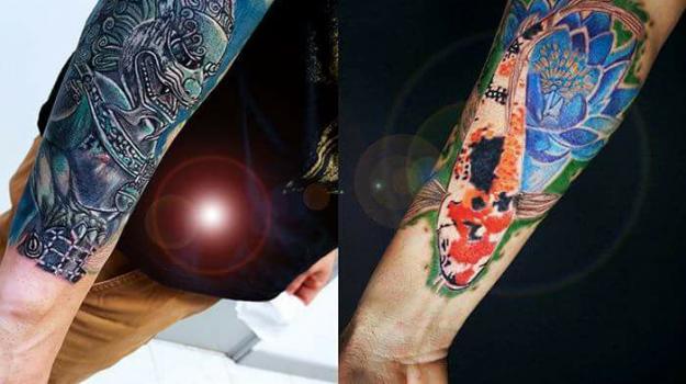 tattoo_tatouage_piercing_art_vaison_la_romaine_vaucluse_japonais_geisha__carpekoy_dessin_peinture_bollène_nyons_buis_les_baronnies_tulette_malaucène_cavaillon_robion_coustellet_drôme_ardèche_tatouage_couleur_dragon_lotus_bras