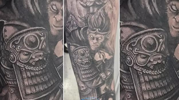 steven-chaudesaigues-meilleur-tatoueur-orange-vaucluse-graphicaderme-tattoo-samourai