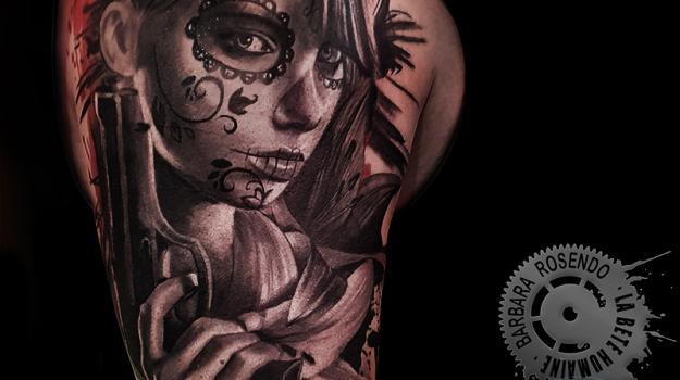 meilleure-tatoueuse-paris-barbara-rosendo-tatouage-catrina-revoler-tattoo