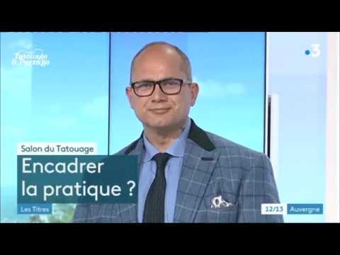 Stéphane Chaudesaigues sur France 3 Auvergne avant la convention de Clermont-Ferrand