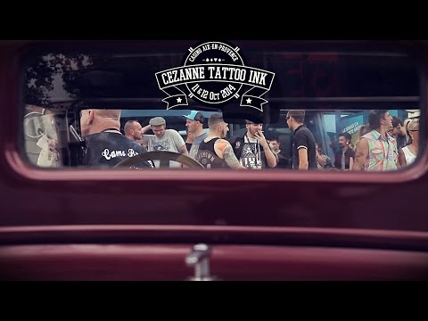 Le staff Graphicaderme au Cézanne Tattoo Ink 2014